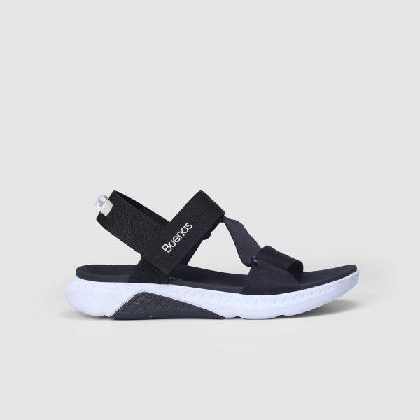 Giày Sandal chính hãng Buenas - F7 đen trắng - Giày sandal nữ