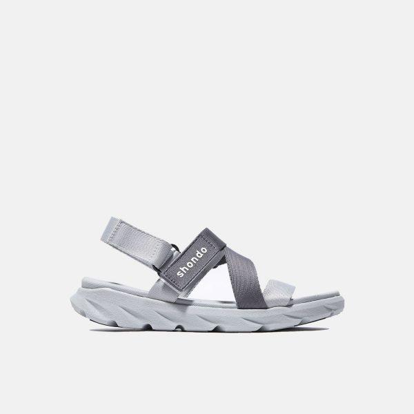 Giày sandal Shondo chính hãng F6 - 2120 - Xám ghi - Giày sandal nam nữ