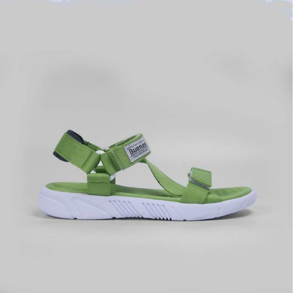 Giày Sandal chính hãng Buenas - S5 xanh lá - Giày sandal nữ