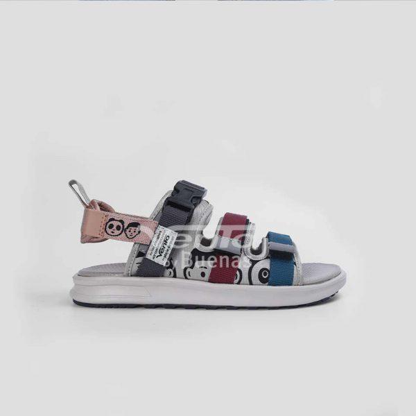 Giày sandal Vento chính hãng NB 80 ghi - Giày sandal nam nữ