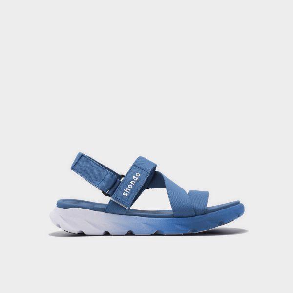 Giày sandal Shondo chính hãng F6 - 0339 - Chàm trắng - Giày sandal nam nữ